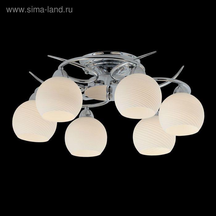 """Люстра """"Анадель"""" 6 ламп 60W Е14 хром"""