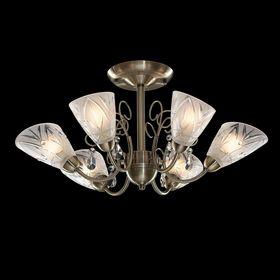 """Люстра """"Диктис"""" 6 ламп 60W Е14 античная бронза"""