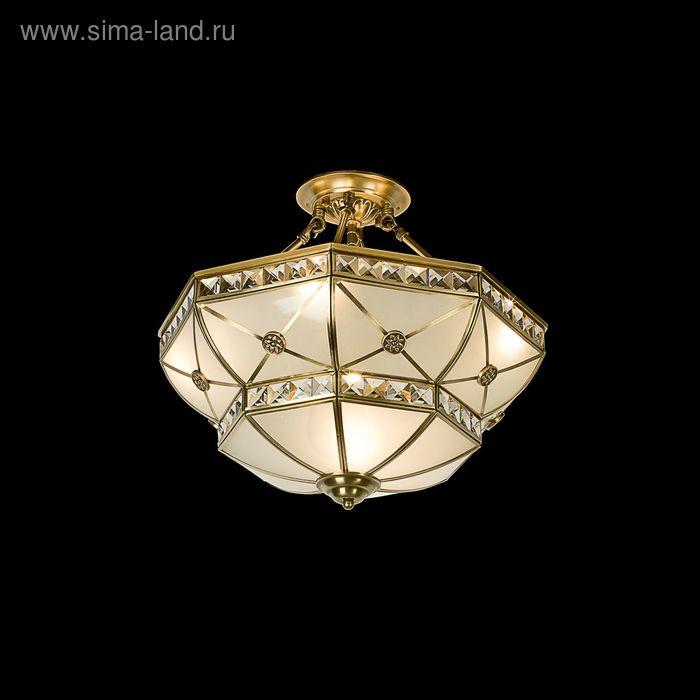 "Люстра ""Мелдрис"" 5 ламп 60W Е27 бронза"