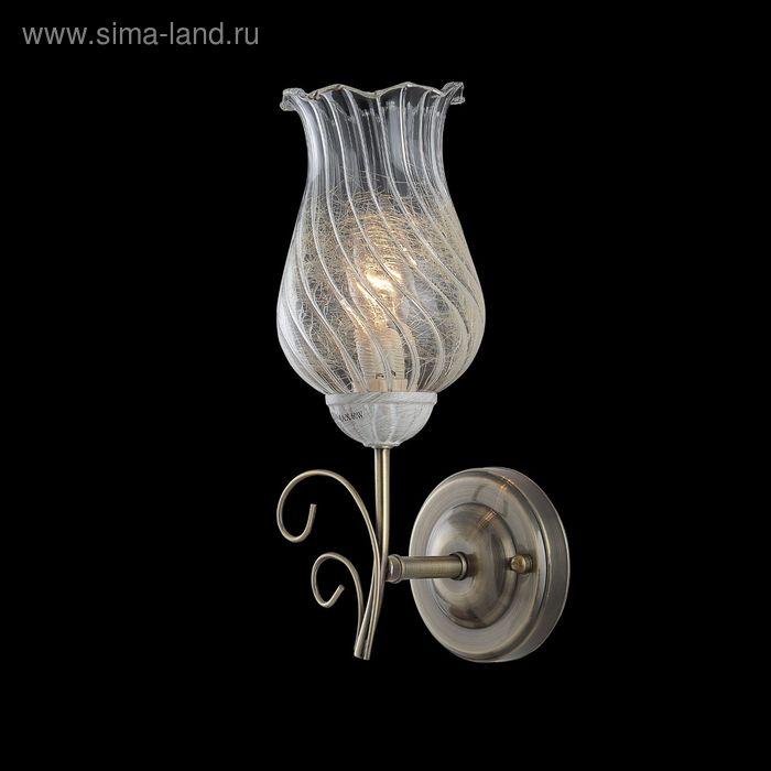 """Бра """"Иолай"""" 1 лампа 60W Е14 античная бронза"""