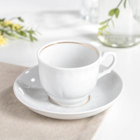 Чайная пара «Тюльпан», 250 мл, блюдце 15 см