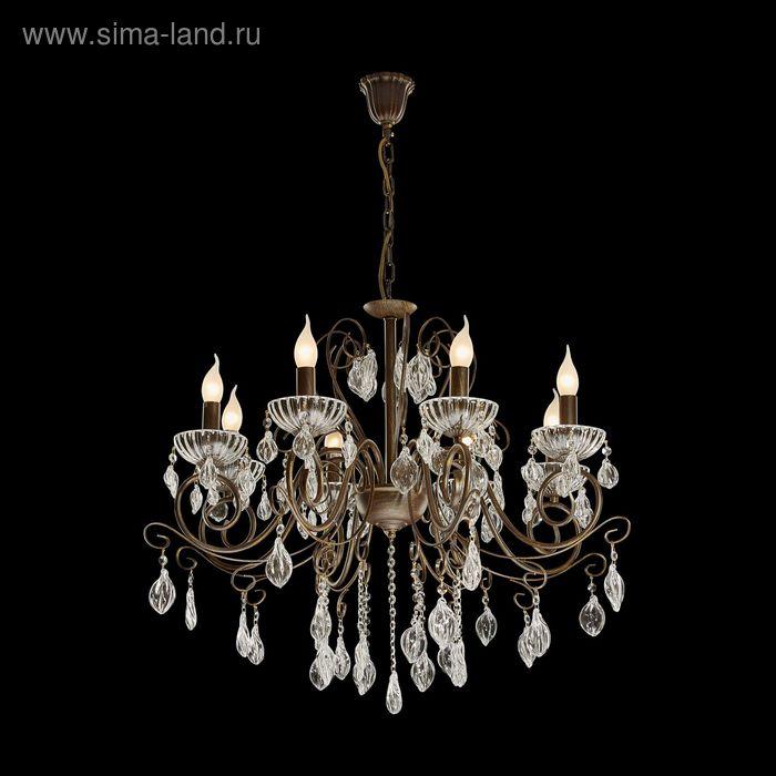 "Люстра ""Георг"" 5 ламп 60W Е14 бронза"