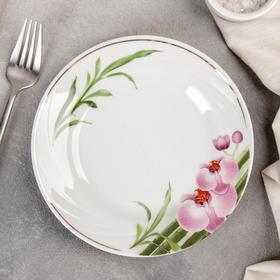 Тарелка мелкая «Бамбуковая орхидея»