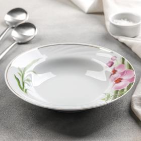 Тарелка глубокая «Бамбуковая орхидея», 20 см, 230 мл