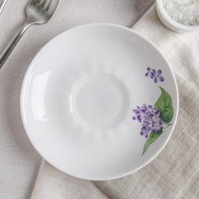 Блюдце «Сирень», d=15 см