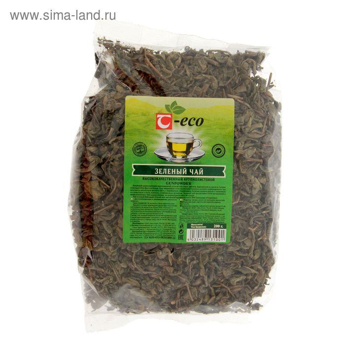 """Чай зеленый крупнолистовой Т-Эко """"Танай"""" ганпаудер, 200 г"""