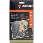 Фотобумага LOMOND 1108103 для струйной печати А6, 295 г/м?, 20 листов