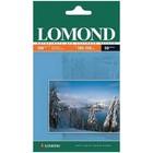 Фотобумага LOMOND для струйной печати A6, 180г/м, 50 листов, односторонняя, матовая