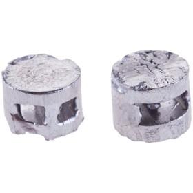 Lead seal, 10 mm, packaging 1 kg.