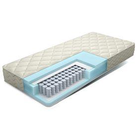 Матрас Eco Relax, размер 120х190 см, высота 20 см, чехол жаккард-эко