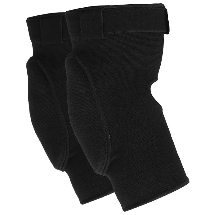 Elbow pads with lock, black color