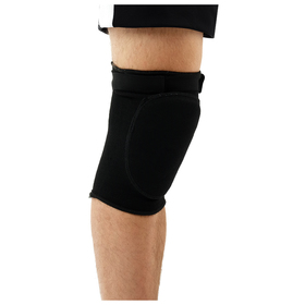 Knee pads with lock, black color