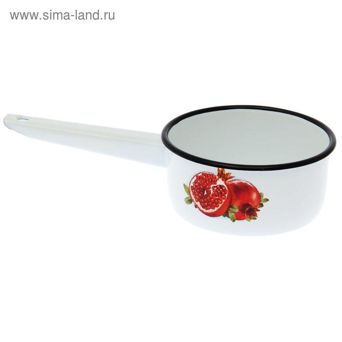 """Ковш 1 л """"Гранат"""", цвет белоснежный"""