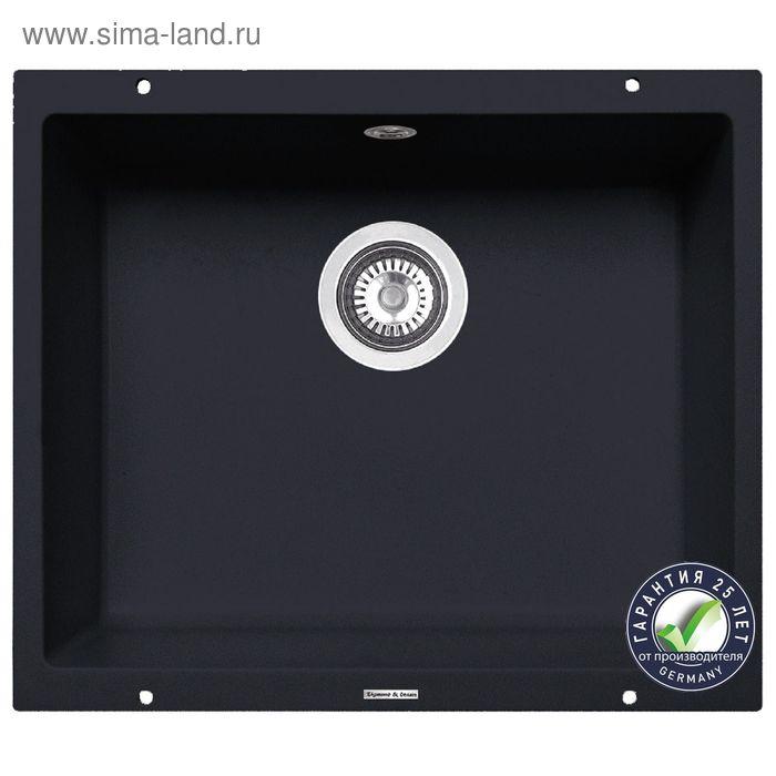 Мойка Zigmund & Shtain INTEGRA 500 Чёрный базальт