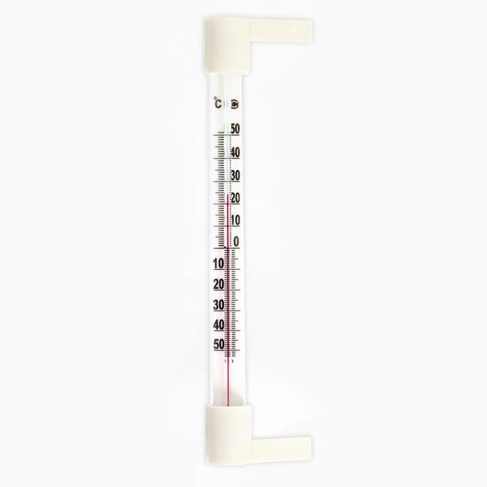 "Термометр наружный (-50°С<Т<+50°С) на ""гвоздике"", упаковка картон микс"