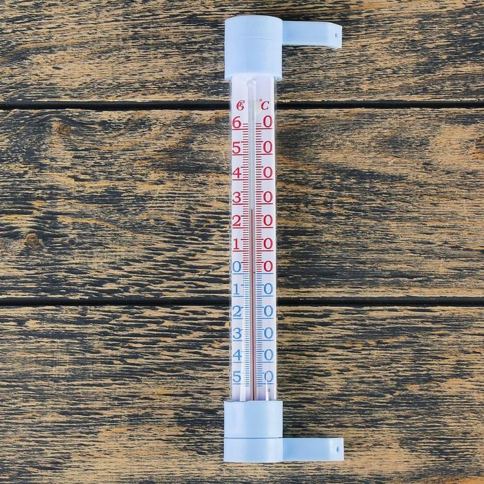 """Термометр оконный (-50°С<Т<+60°С), на """"гвоздике"""", упаковка пакет микс"""