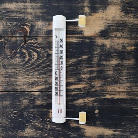 "Термометр оконный (-50°С<Т<+50°С) на ""липучке"", упаковка картон"