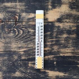 """Термометр оконный (-50°С<Т<+50°С) на """"липучке"""", упаковка блистер"""