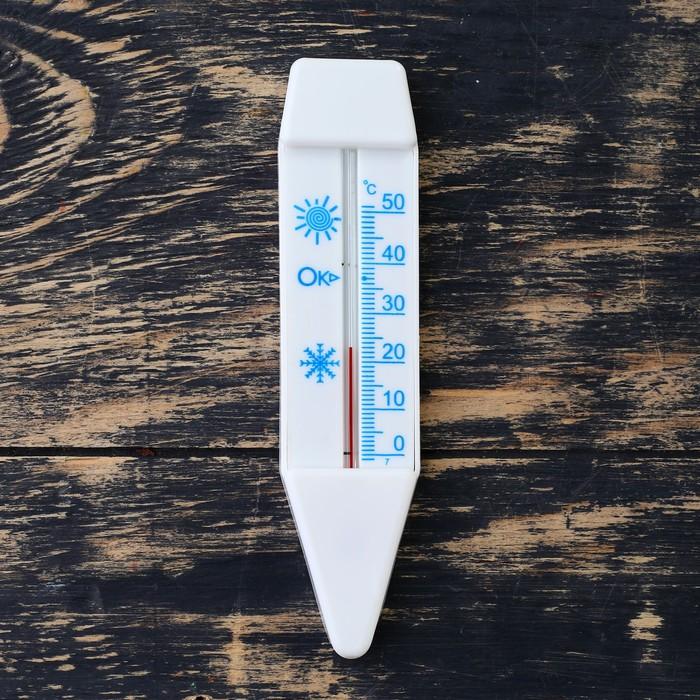 """Термометр для воды """"Лодочка"""" (0°С<Т<+50°С), упаковка блистер"""