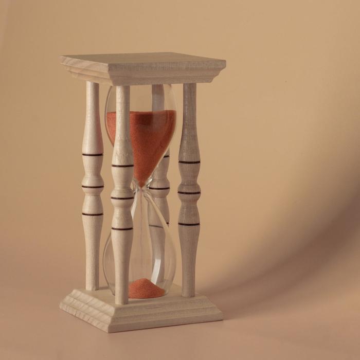 Часы песочные сувенирные (конусные), микс