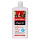 """Жидкость снятия для всех видов лака Antishellac с ацетоном """"Макс.укпепление, восстан-е"""", 1000 мл"""