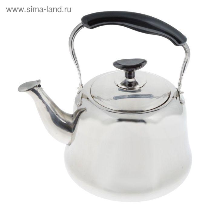 Чайник литой 3 л, со свистком