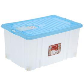 Ящик для хранения с крышкой Darel-box, 56 л, 60×40×31 см, цвет МИКС