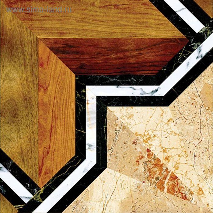 Плитка напольная Монкада коричневый 38,5х38,5см 16-01-15-480 (в упаковке 0,88 кв.м)