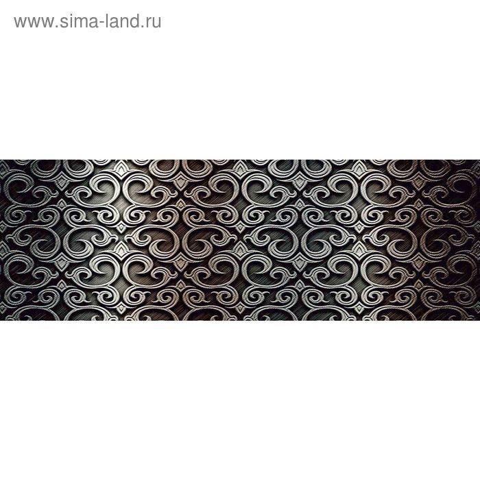 Облицовочная плитка Кальяри вензель черный 17-01-04-379 60х20см (в упаковке 1,2 кв.м)