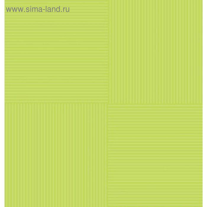 Плитка напольная Кураж-2 салатный 30х30см 12-01-81-040 (в упаковке 0,99 кв.м)