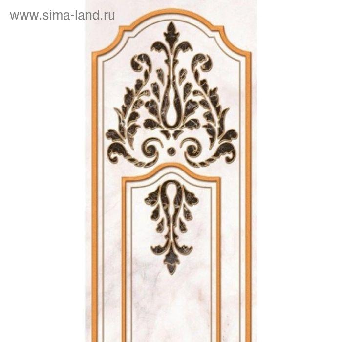 Вставка керамическая 50х25см Пастораль серый 10-03-06-460-1