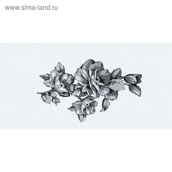 Вставка керамическая 40х20см Аллегро черный 08-03-04-100-3