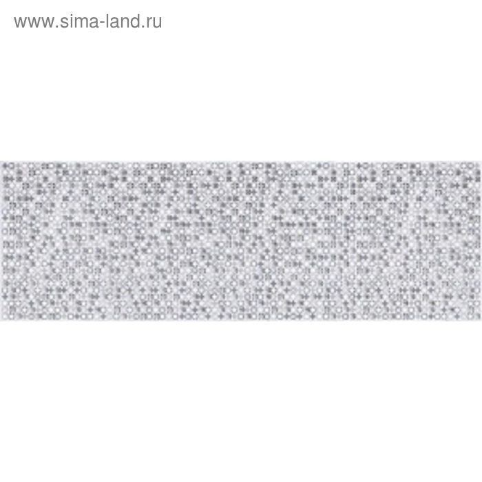 Вставка керамическая 60х20см Пьемонт серый мозаика 17-03-06-832