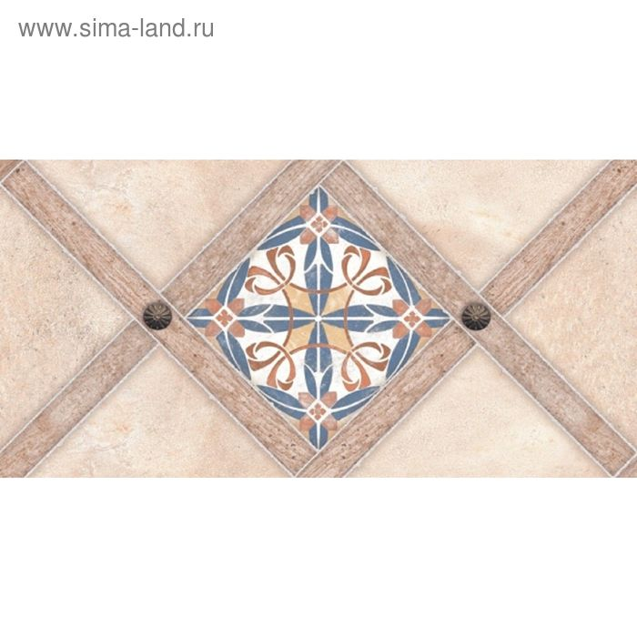 Декор 50х25см Апеннины бежевый 10-00-11-522