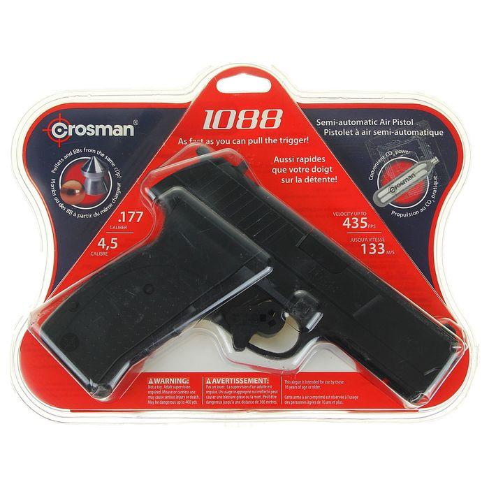 Пистолет пневм. Crosman 1088 BG, кал.4,5 мм, 1088BG, шт