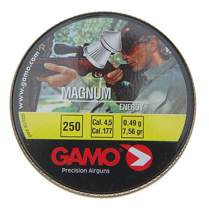 "Пули пневм. ""Gamo Magnum"", кал. 4,5 мм. (250 шт.)"