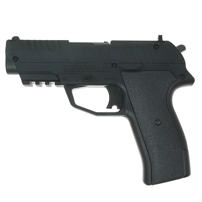 Пистолет пневматический Crosman Iceman C02 Powered BB, кал.4,5 мм, CCICE7B, шт