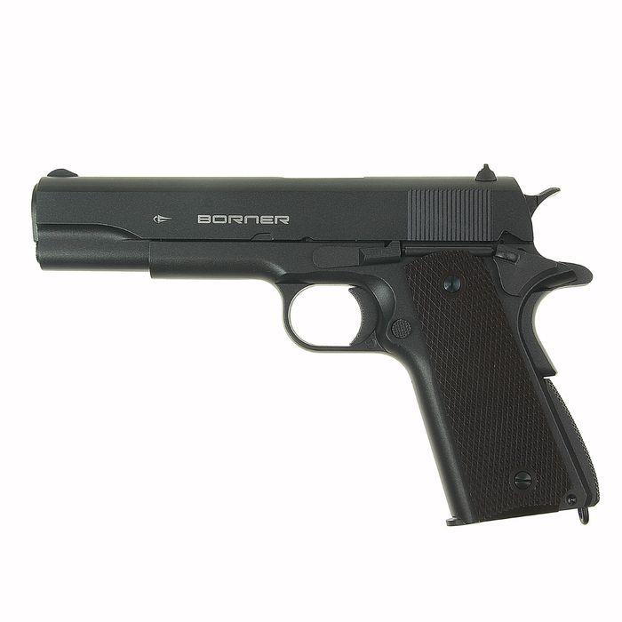 Пистолет пневматический BORNER KMB76, кал. 4,5 мм, 8.4090, шт