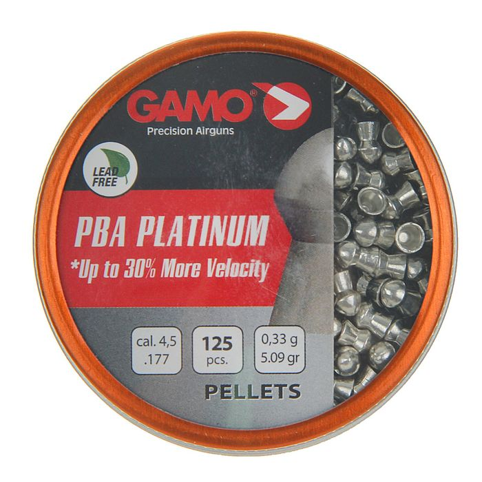 "Пули пневм. ""Gamo PBA Platinum"", кал. 4,5 мм., (125 шт.) (в кор. 24 бан.) шт"