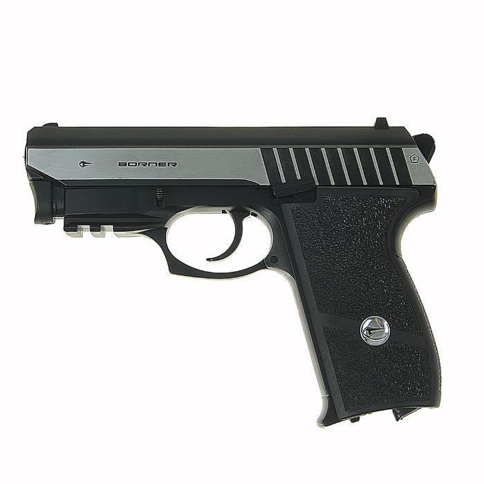 Пистолет пневматический BORNER Panther 801, кал. 4,5 мм, 8.4020, шт