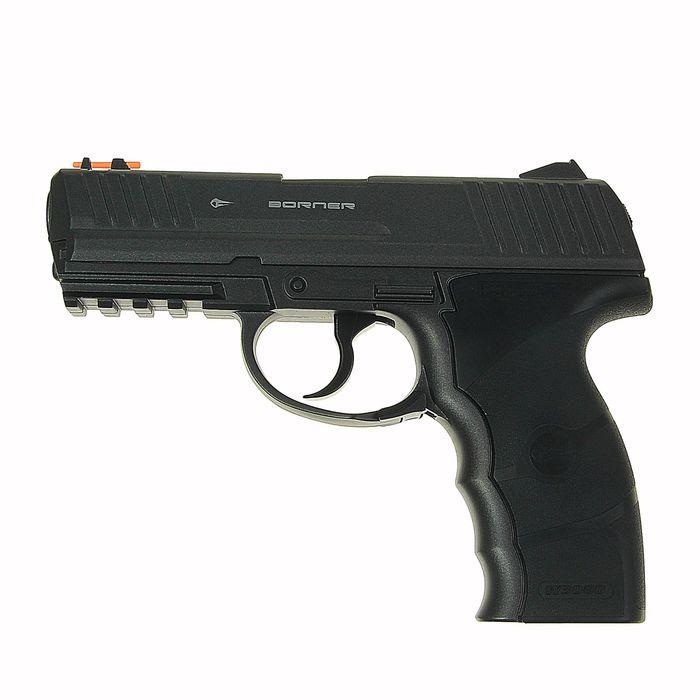 Пистолет пневматический BORNER W3000M, кал. 4,5 мм, 8.3021, шт