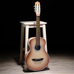 Гитара 6-струнна, цвет натуральный, акустическая
