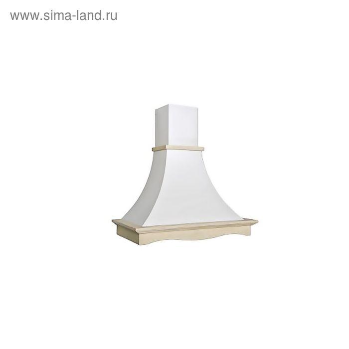 Кухонная вытяжка ELIKOR Рококо 60П-700-П3Г, белый муар/дуб неокрашенный