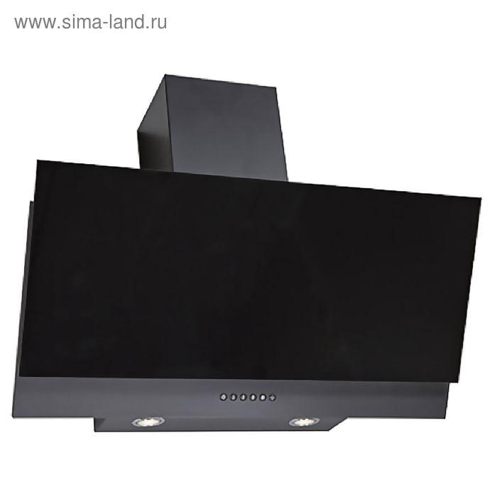 Кухонная вытяжка ELIKOR Рубин S4 90П-700-Э4Г, антрацит/чёрная