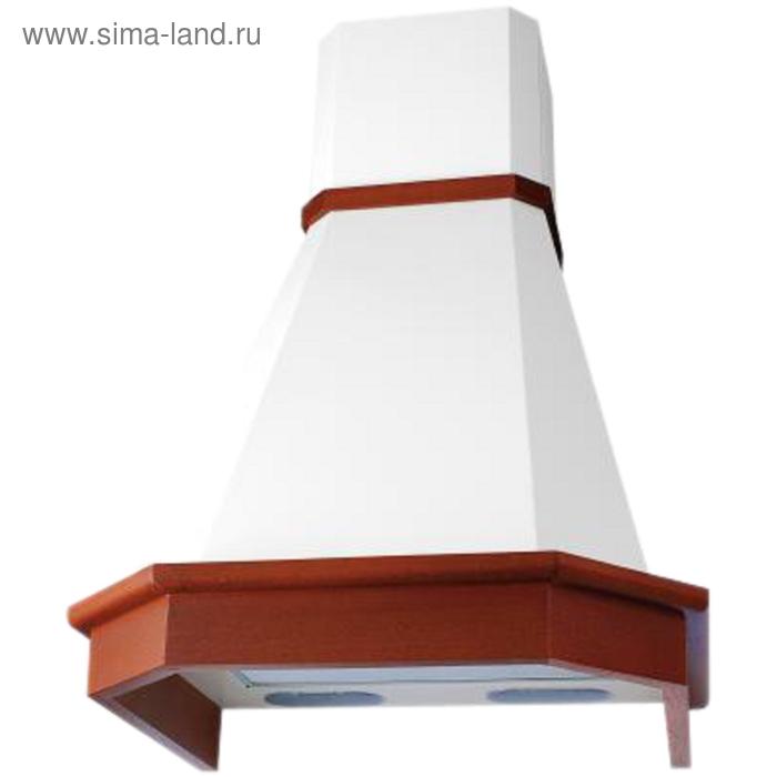Вытяжка Elikor Камин Грань 60П-650-П3Л, бежевый/дуб рустика