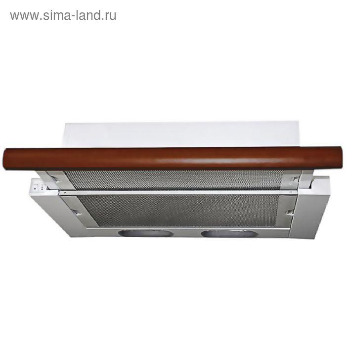 Кухонная вытяжка ELIKOR Интегра 60П-400-В2Л, белая/бук вишня