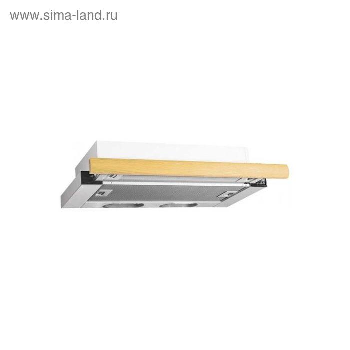 Кухонная вытяжка ELIKOR Интегра 60П-400-В2Л, белая/дуб выбеленный