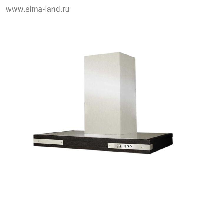 Кухонная вытяжка ELIKOR Патио 90Н-650-К3Л, нержавеющая сталь/дуб венге