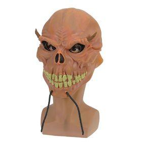 "Mask latex ""Toothy skull"""
