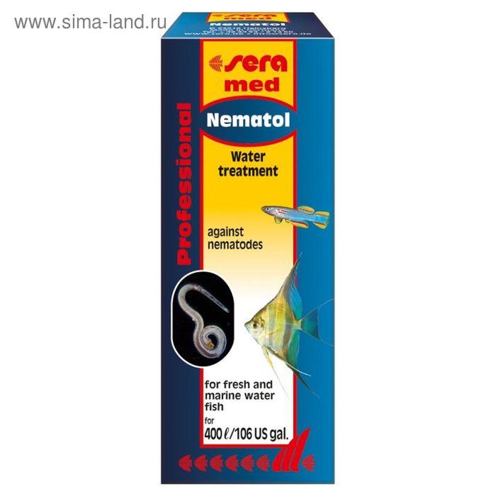 Кондиционер для аквариумной воды Sera med Professional Nematol, 10 мл.